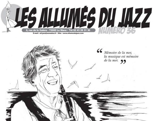 Mauro Basilio sur le numéro 36 des Allumés du Jazz